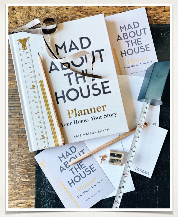 AUGUST POSTCARDS: Mad About The House Planner